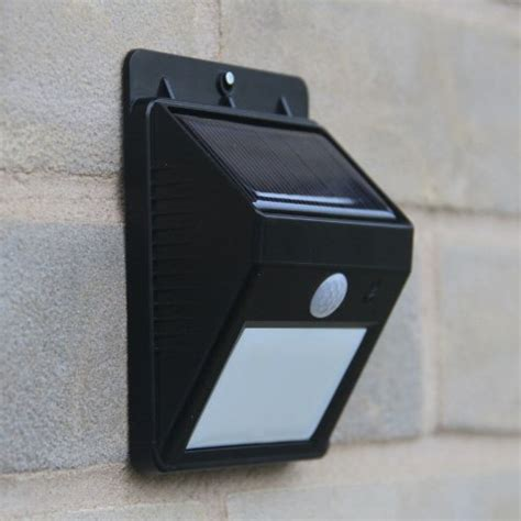 frostfire bright led wireless solar powered motion sensor