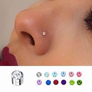 3 Mm Magnetic Fake Nose Ear Monroe Stud