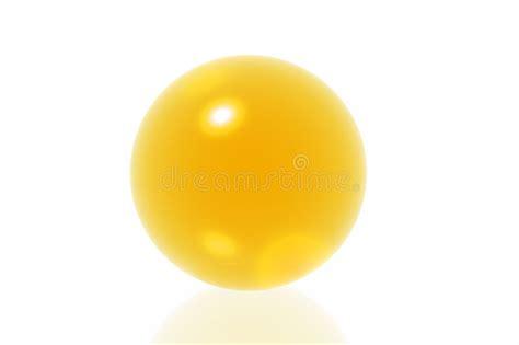 Yellow Sphere Stock Illustration Illustration Of Yellow
