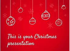 Free Christmas Powerpoint template or Google Slides theme