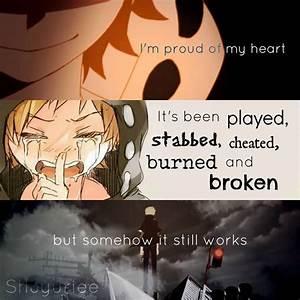 Ich bin stolz auf mein Herz. Es wurde mit ihm gespielt,es ...