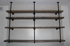 Two Shelf Bookcase Black by Design Diy Industrial Rustic Shelf California Home Design
