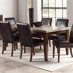 Granite top dining room table marceladickcom for Dining room tables with granite tops