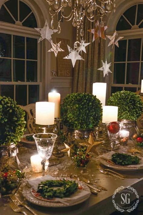 absolutely stunning ideas  christmas table decorations