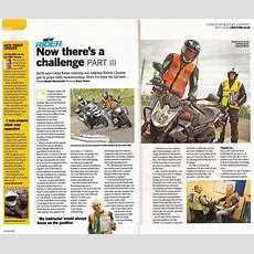 Ride Magazine Feature Cam Rider In 3 Part Story