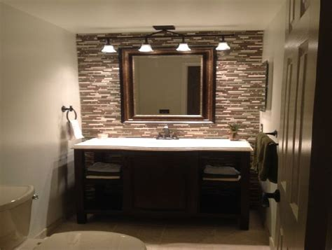 Bathroom Mirror Lighting Ideas Bathroom Over Mirror