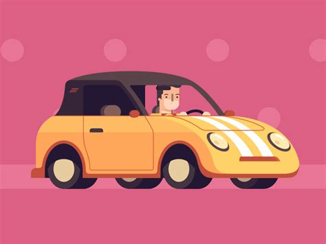 Car Cartoon Gif 7 » Gif Images Download