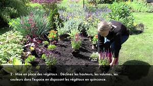 Plante Vivace Exemple : comment r aliser un joli massif de plantes vivaces video youtube ~ Melissatoandfro.com Idées de Décoration