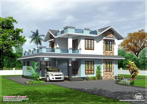 Two Storey House Plans Kerala Photos