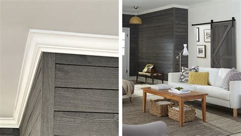 shiplap siding interior walls create an accent wall with shiplap