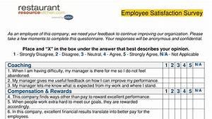 Performance Magazine Employee Satisfaction Survey ...