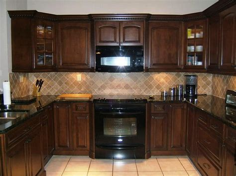 kitchen backsplash with cabinets the worth to be made espresso kitchen cabinets ideas you