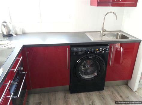lave linge cuisine électroménager intégrable ou pose libre heureux le bien installé