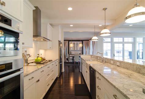 galley kitchens with islands 30 beautiful galley kitchen design ideas decoration 3723