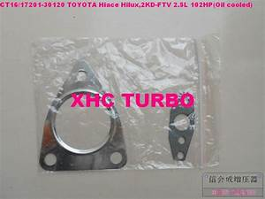 New Ct16 17201 30080 30120 Turbo Turbocharger For Toyota
