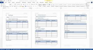 availability plan template ms word 26 pages With software deployment document template