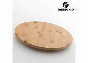 Plateau De Bois : plateau tournant en bois pour centre de table cadeau cuisine ~ Teatrodelosmanantiales.com Idées de Décoration