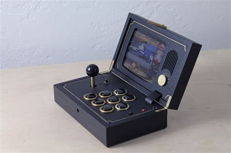 kaid  wooden portable game system gadget flow
