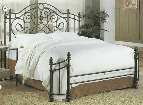 Iron Headboards And Footboards by New Or Size Bronze Gold Finish Iron Metal