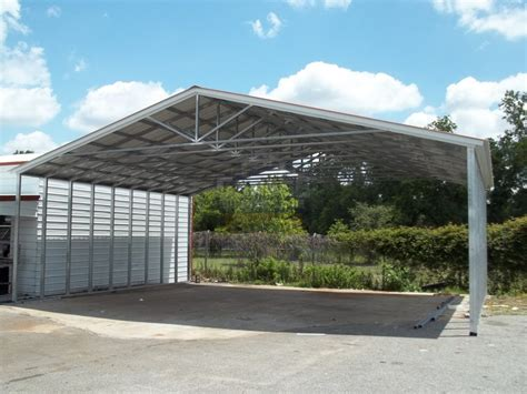 Car Port Metal by Metal Carports Steel Car Port Kits Prefab Carports At
