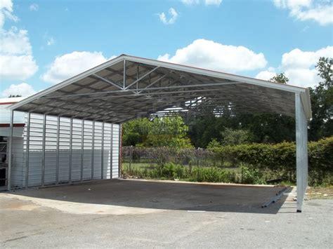 Metal Carports  Steel Car Port Kits  Prefab Carports At