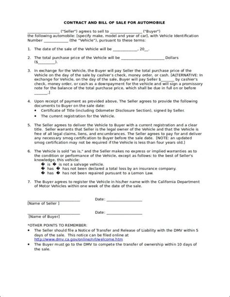 business contract templates  pages word docs