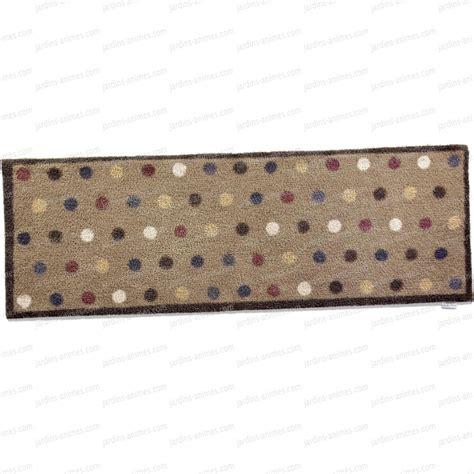 paillasson cuisine paillasson motif spot10 100 recyclé 65x150cm