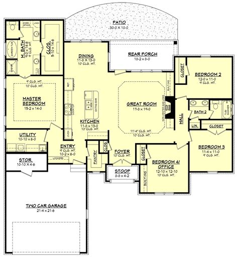House Plans With Big Bedrooms by Get The House Plan You Want To Build The Home Of Your