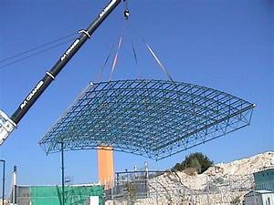 China Space Frame System, Steel Structure - Swimming Pool
