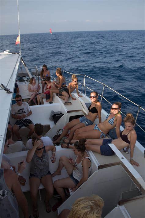Catamaran Booze Cruise Barcelona booze cruise barcelona barcelona 180 s ultimate boat party