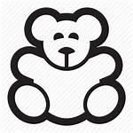 Bear Icon Toys Children Animal Teddy Icons
