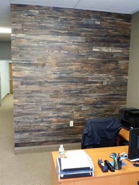 pallet wood accent wall hometalk accent wall made with pallet wood