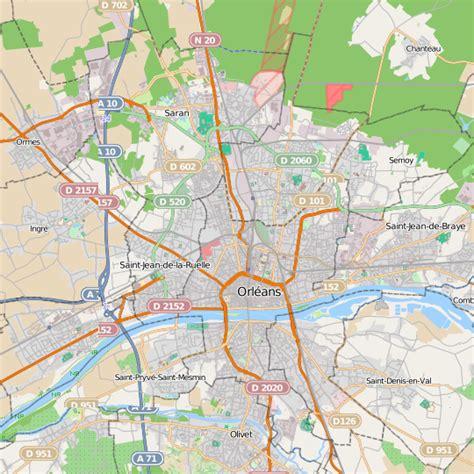 carnet de cuisine plan orléans carte ville orléans