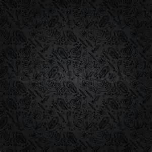 design hintergrund schwarzer hintergrund oder grauen hintergrund schwarz nahtlose florales muster vektor