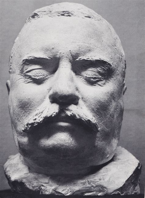 Theodore Roosevelt Death Mask