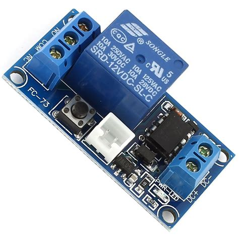 dc 12v 1 ch bistable self locking relay expansion circuit board module j8z8 ebay