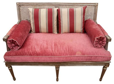 Settee Wood by Louis Xvi Style Silvered Wood Settee Doyle Auction House