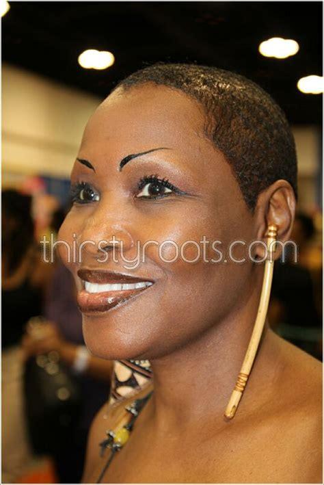 shaved haircut  black women