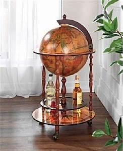 Globus Bar Günstig : minibar globus weltkugel standdeko bar hausbar globusbar rollbar ebay ~ Indierocktalk.com Haus und Dekorationen