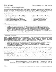 entry level software engineer resume template business