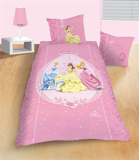 parure housse de couette disney princesses m 233 daillon 140x200 cm