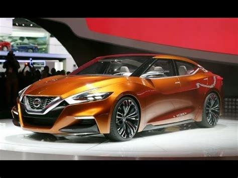 nissan sport sedan maxima concept   youtube