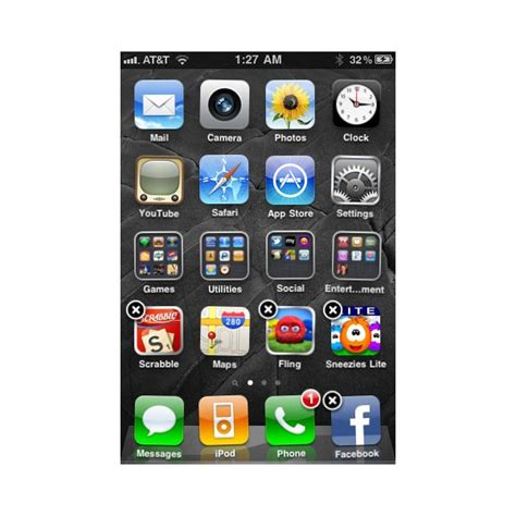 to move apps on iphone 5 how to move iphone icons rearranging the home screen