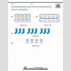 Beginning Multiplication Worksheets