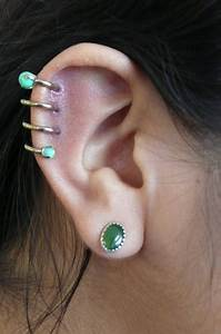 Cute Helix Ear Piercing Helix Ear Piercing | Cute ...