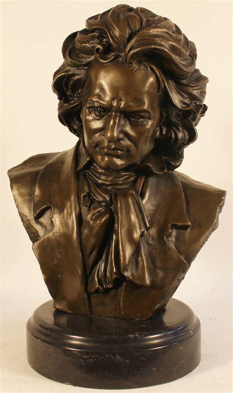 Bronze Statue, Bronze, Beethoven 8x12ins, Art Ref:BRZ1221