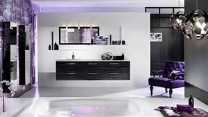 Spectacular, Cool, Purple, Bathroom, Design, Ideasdesign, Ideas