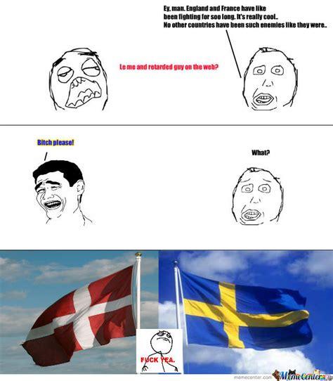 Sweden Meme - sweden and denmark meme kind of by tossarn on deviantart