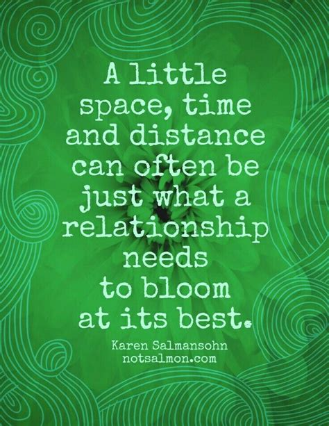giving love space quotes