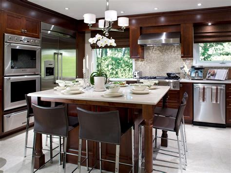 kitchen island table design ideas kitchen island tables hgtv